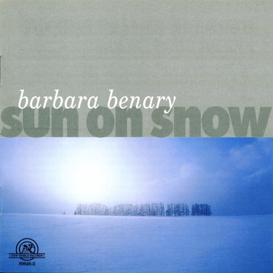 Barbara Benary: Sun On Snow