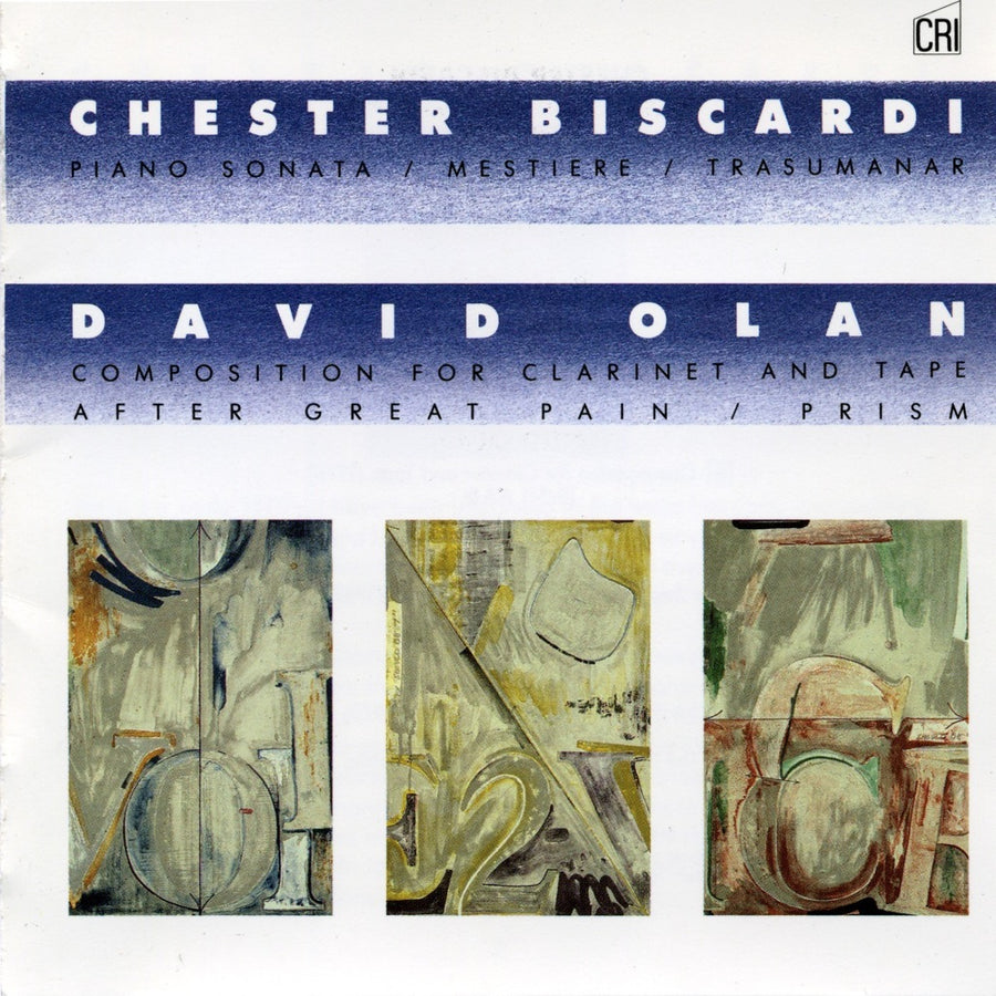 Music of Chester Biscardi and David Olan