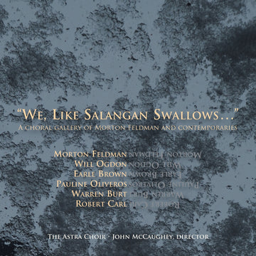'We, Like Salangan Swallows…'