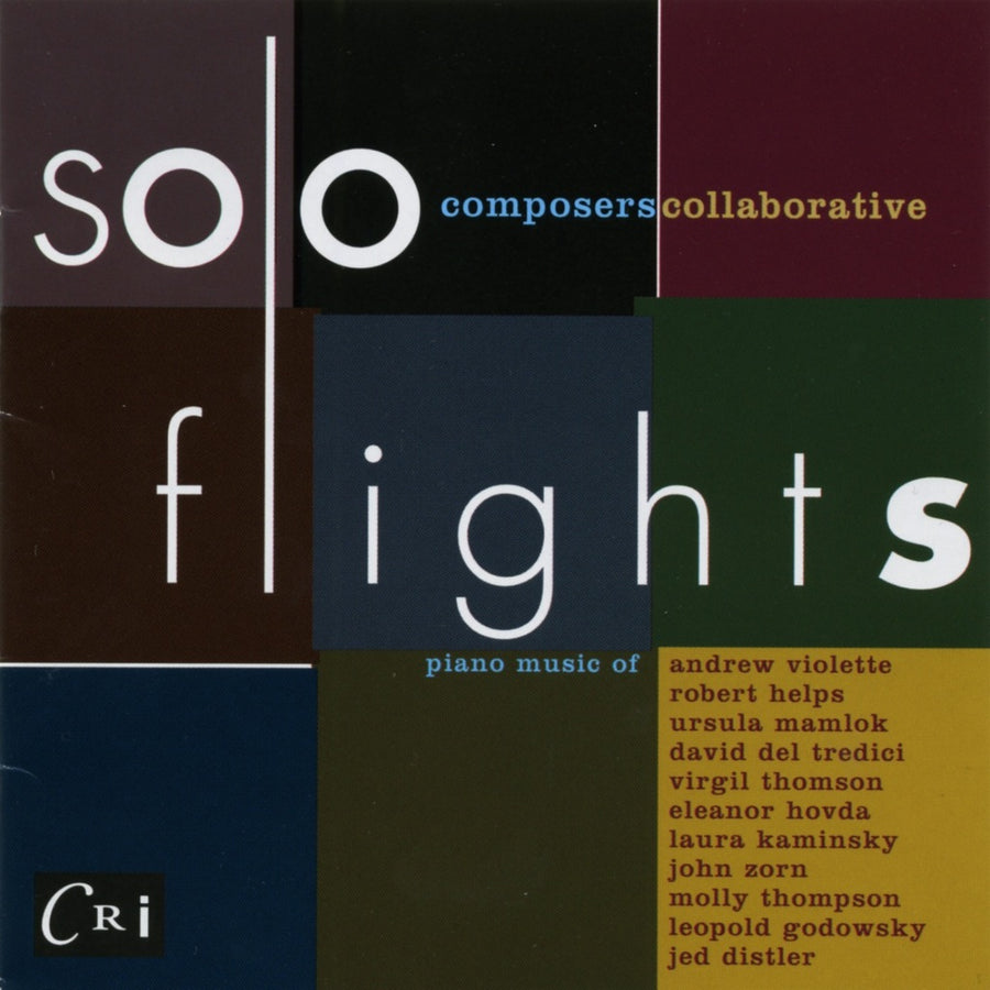 Composers Collaborative: Solo Flights