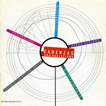 Cadenzas & Variations - Violin Music