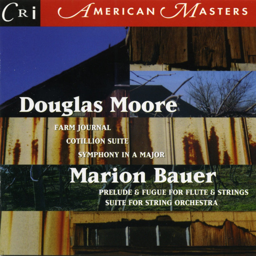 Douglas Moore & Marion Bauer: Orchestral Works