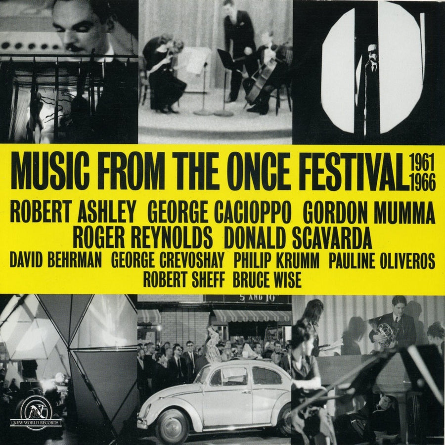 Music from the ONCE Festival 1961-1966 (Box Set)