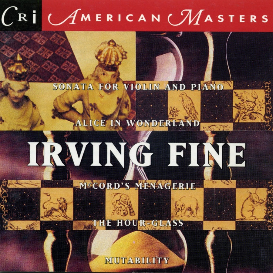 Irving Fine: Chamber and Vocal Works