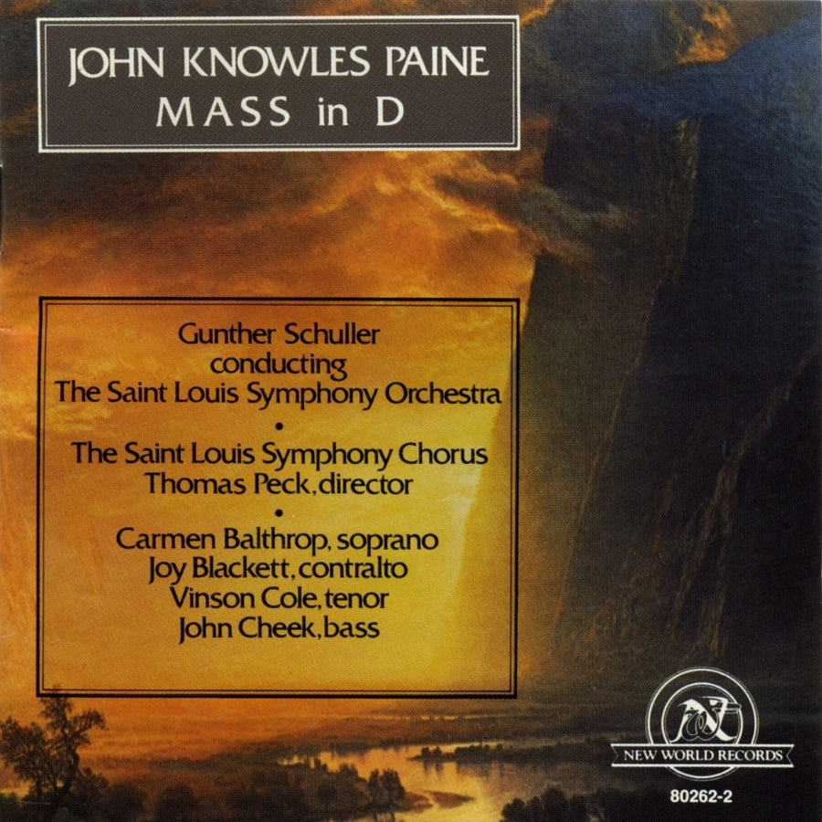John Knowles Paine: Mass in D