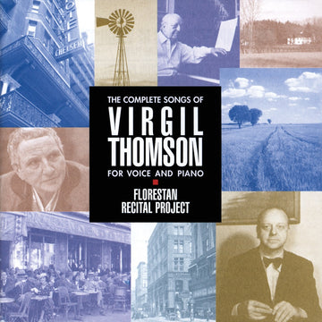 The Complete Songs Of Virgil Thomson for voice and piano