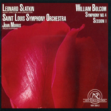 William Bolcom: Symphony No. 4/Session 1