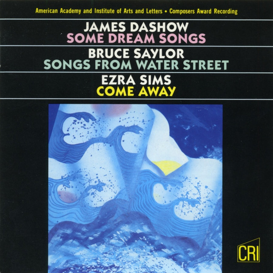 Dashow, Saylor & Sims: Vocal Works