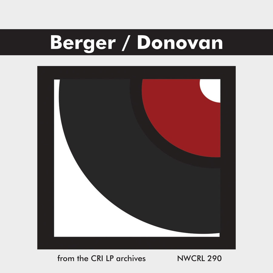 Arthur Berger & Richard Donovan: Chamber Works