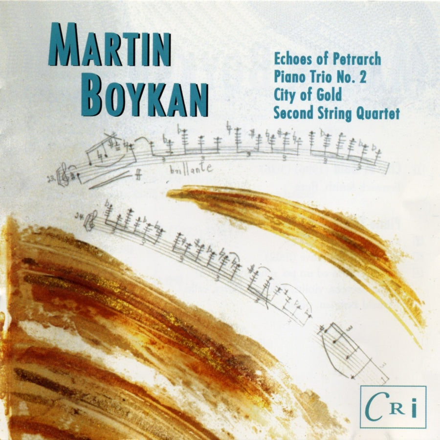 Martin Boykan: City of Gold & Other Works
