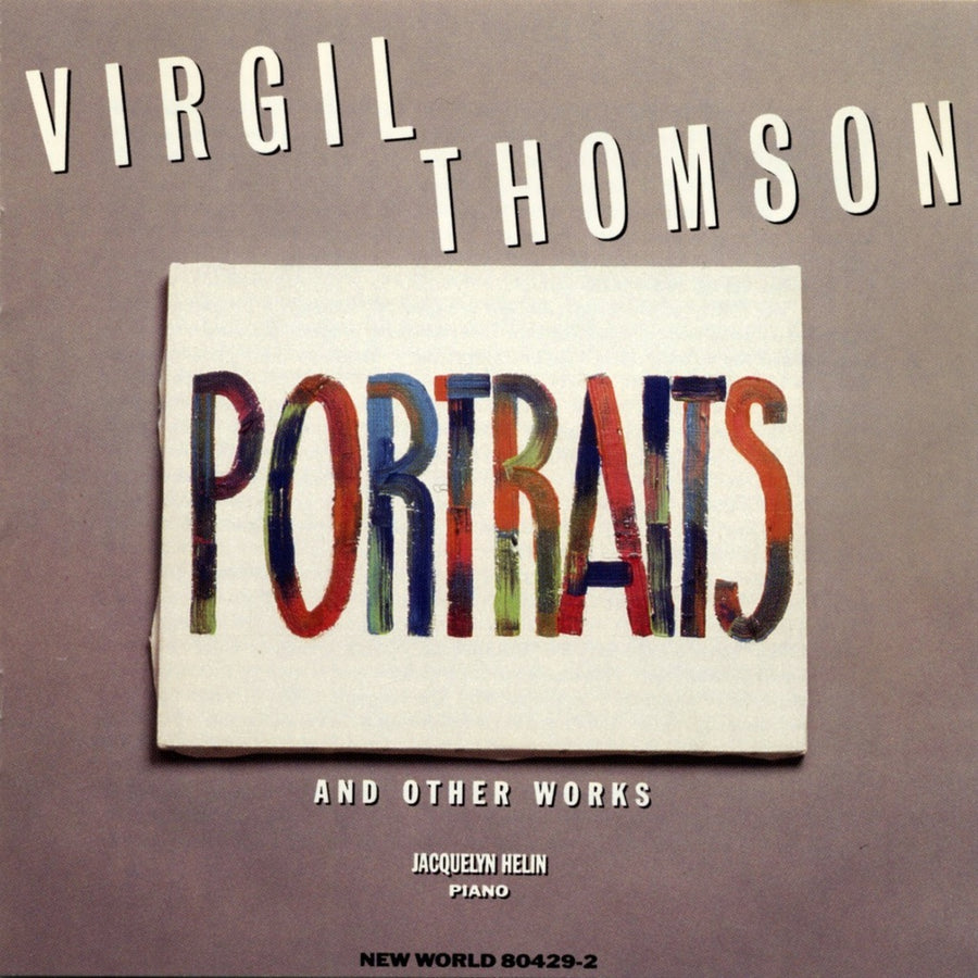 Virgil Thomson: Portraits