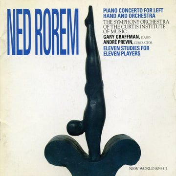 Ned Rorem: Concerto for Left Hand and Orchestra
