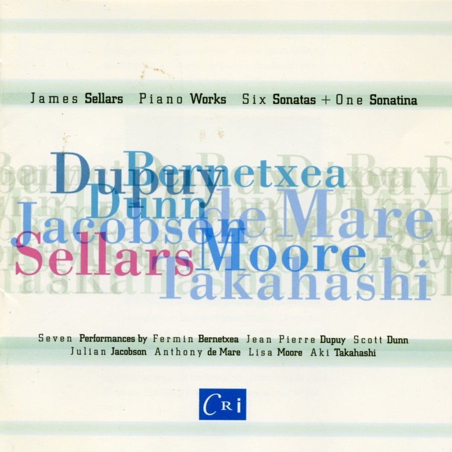 James Sellars: Piano Works