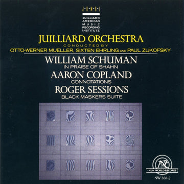Works by Schuman, Copland, Sessions