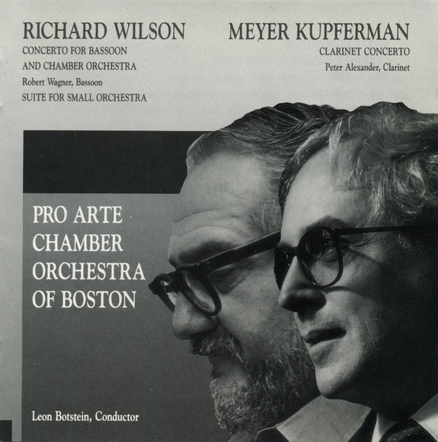 Meyer Kupferman/Richard Wilson