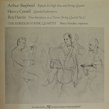 Chamber Works by Shepherd/Cowell/Harris