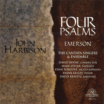 John Harbison: Four Psalms