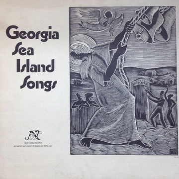 Georgia Sea Island Songs - LP Cover Art Featuring
