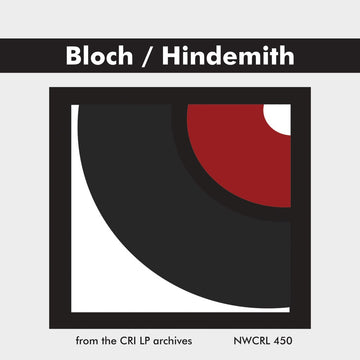 Bloch & Hindemith: Works for Viola and Piano