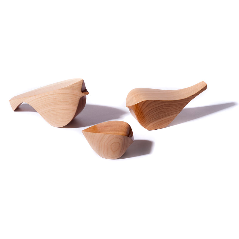 Hardwood HouseBirds in Cherry