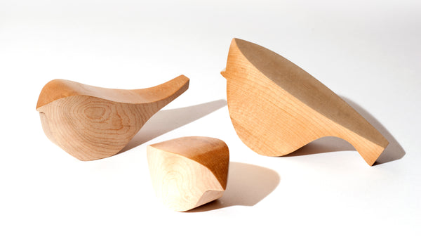 Hardwood HouseBirds  in Maple