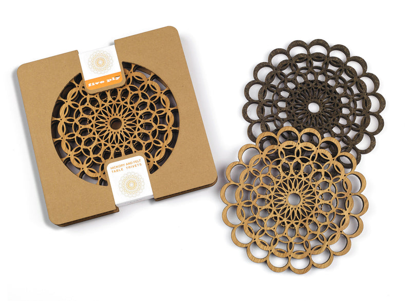 TableTrivets- The Pearl Set