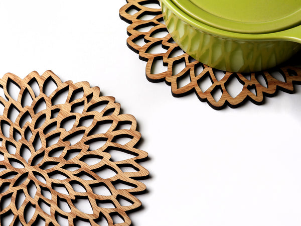 TableTrivets- The Petals Set