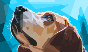 beagle vector art