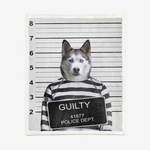 Load image into Gallery viewer, Custom Criminal Pet Fleece different sizes