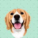 Load image into Gallery viewer, Custom Beagle Mug, Personalised Pet Mug size 11 oz/0.33 l or 15 oz/0.44 l