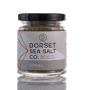 Fennel Infused Dorset Sea Salt 125g