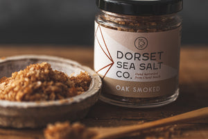 Oak Smoked Dorset Sea Salt 125g