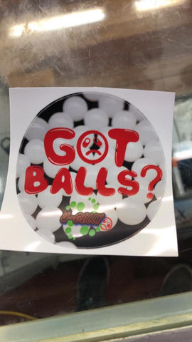 Got Balls Sticker