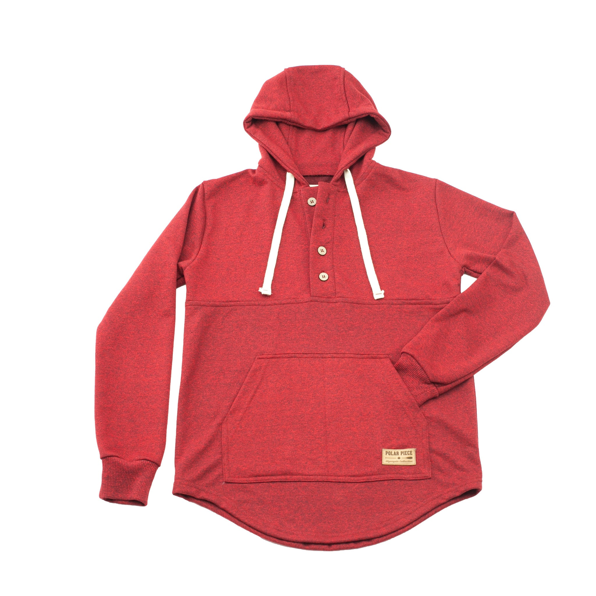 Cranberry Heather Algonquin Hoodie - PolarPiece | Simply Canadian