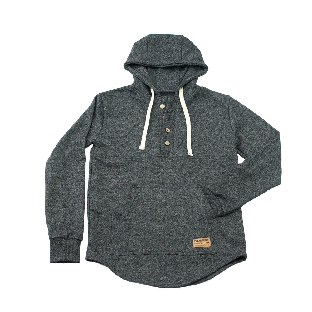 Black Pepper Algonquin Hoodie - PolarPiece | Simply Canadian