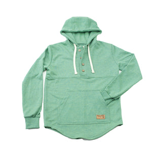Load image into Gallery viewer, Spruce Green Algonquin Hoodie - PolarPiece | Simply Canadian