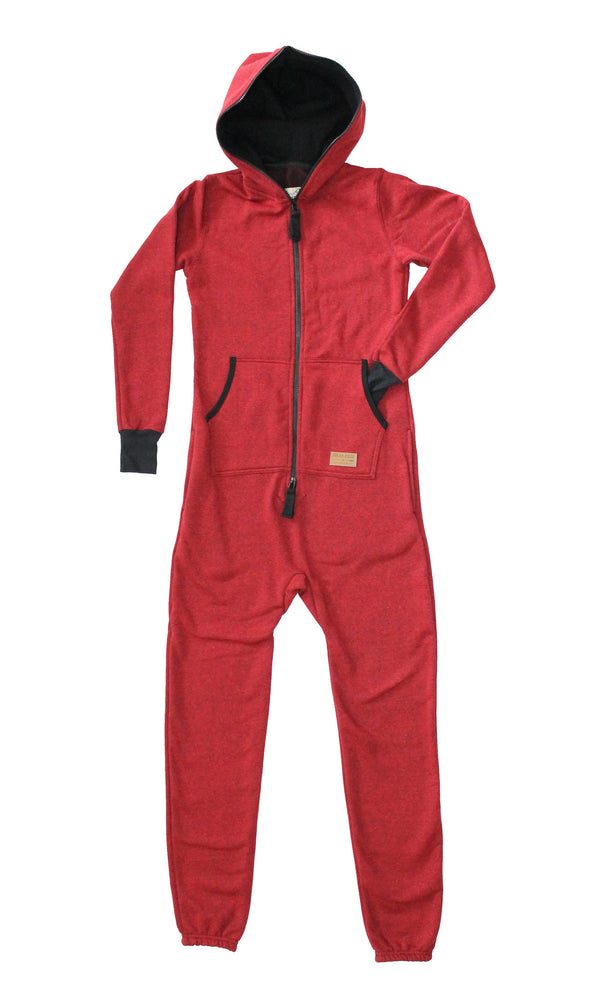 Kids Cranberry Algonquin Jumpsuit