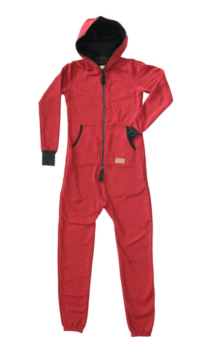Kids Cranberry Algonquin Jumpsuit - PolarPiece | Simply Canadian