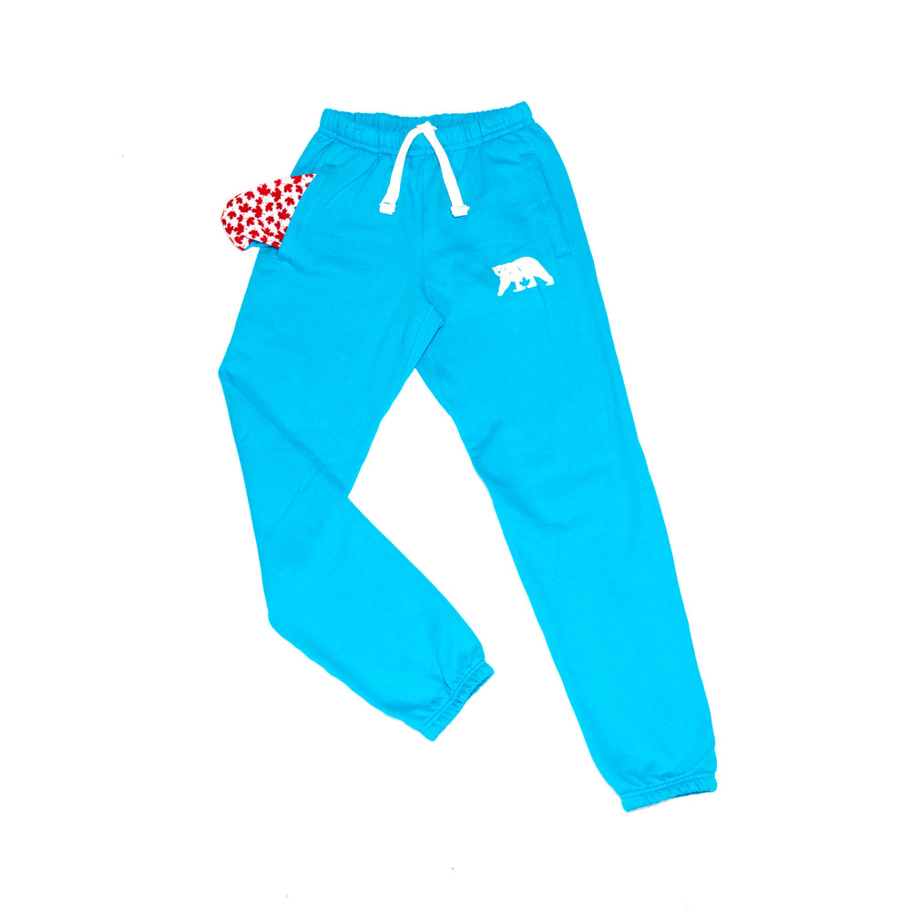 Load image into Gallery viewer, Turquoise Polar Pants. - PolarPiece | Simply Canadian