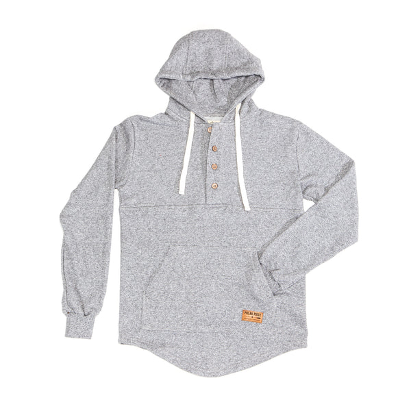 Salt & Pepper Algonquin Hoodie. - PolarPiece | Simply Canadian