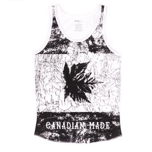 BLACK CANADIAN MADE MAP TANK