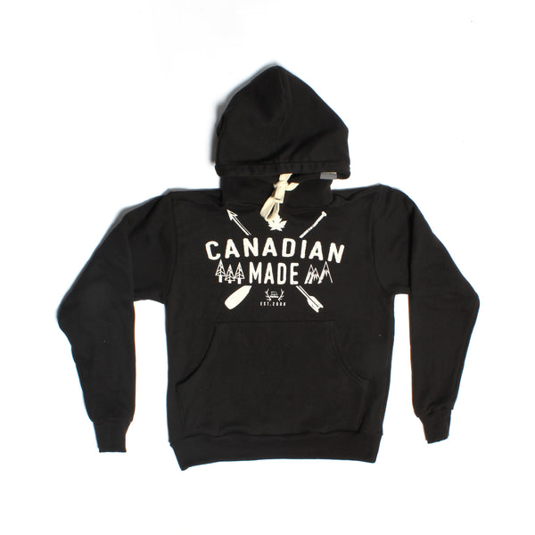Black Canadian Made Pullover - PolarPiece | Simply Canadian