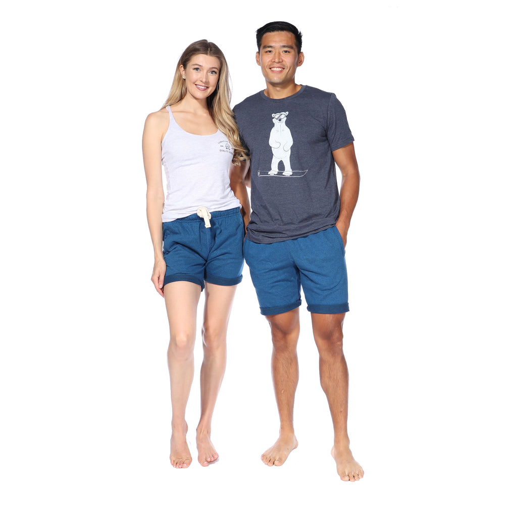 Polar Shorts (Electric Blue Heather)