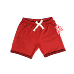 Polar Shorts (Cranberry Heather)