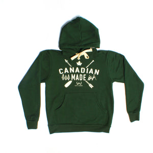 Forest Green Canadian Made Pullover - PolarPiece | Simply Canadian