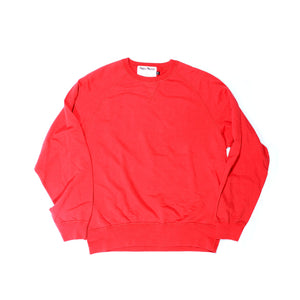 Vintage French Terry ( Red )Crew Neck