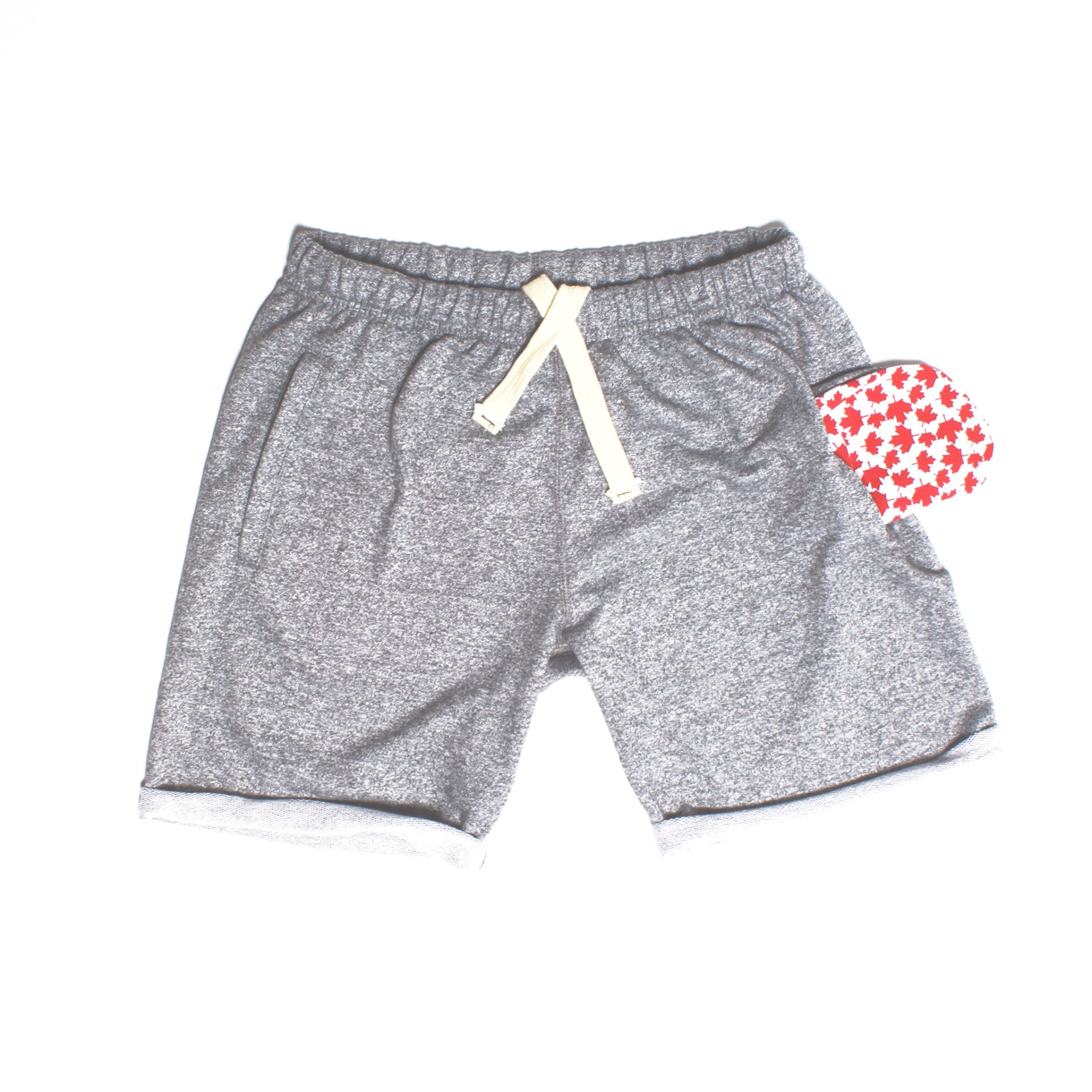 Salt & Pepper Polar Shorts - PolarPiece | Simply Canadian
