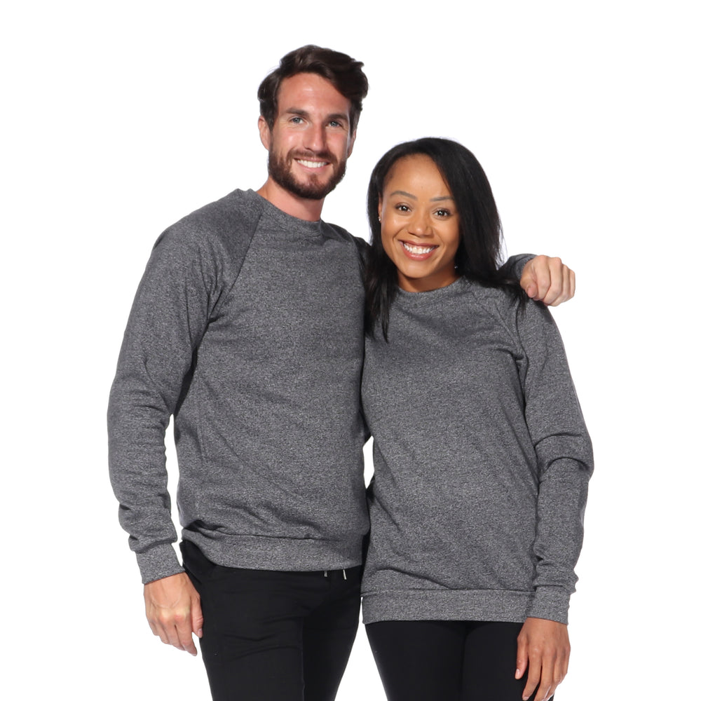 Load image into Gallery viewer, Kootenay Cottage Crew Neck (Black Pepper)