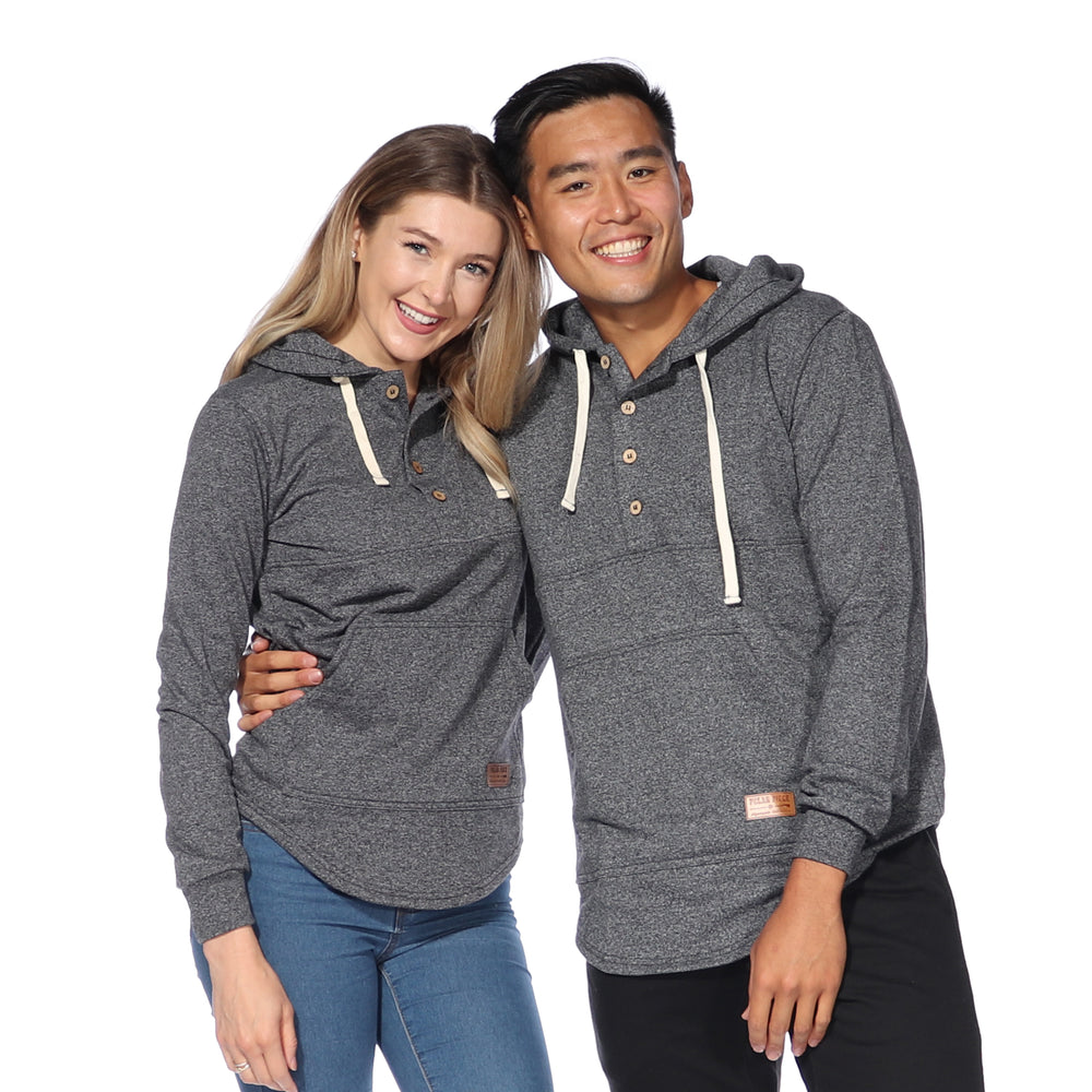Load image into Gallery viewer, Algonquin Hoodie (Black Pepper)