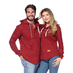 Algonquin Hoodie (Cranberry Heather)
